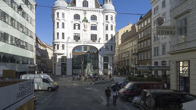 Ansicht des historischen Platzes