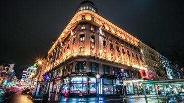 Außenansicht Hotel Bristol Vienna