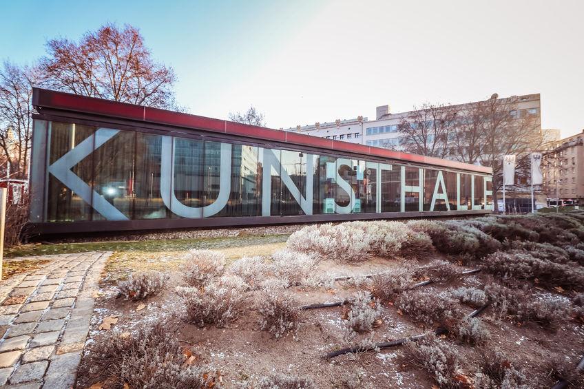 Außenansicht des Kunsthalle Gebäudes