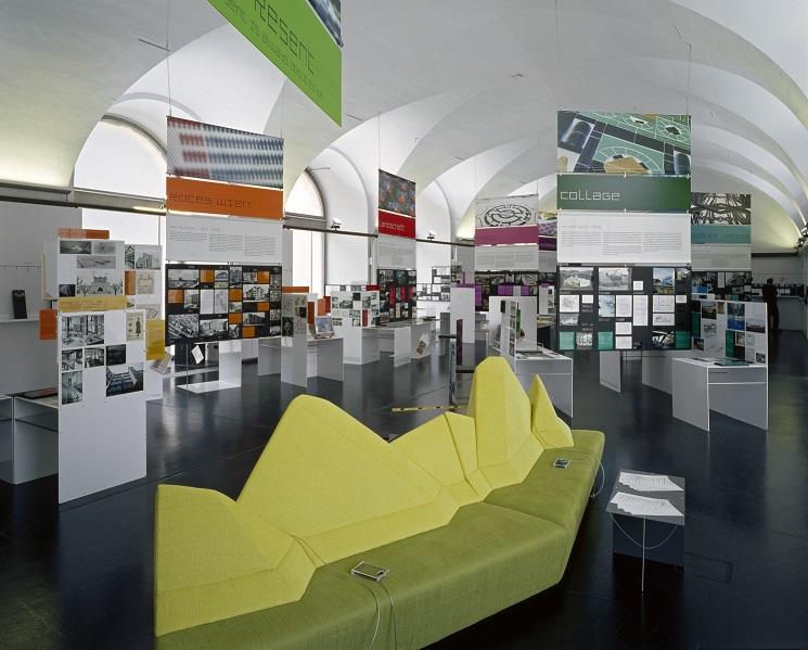 Ausstellungsraum im Architekturzentrum