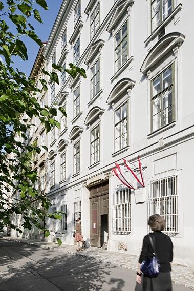 Außenansicht des Beethoven Pasqualatihauses