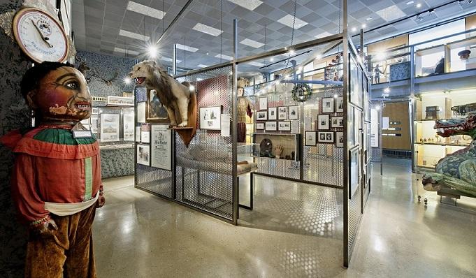 Ausstellungsraum im Museum
