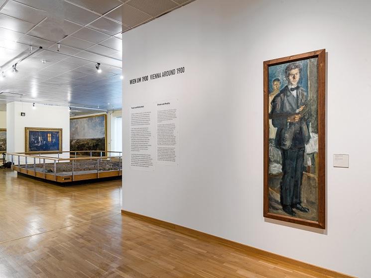 Ausstellungsraum des Museums