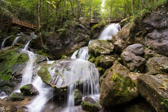 Myra falls in Austria near Vienna