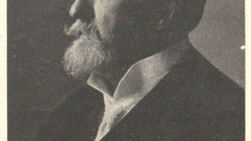 """Abbildung Otto Wagner aus Austrian Newspaper """"Sport und Salon"""", April 21, 1918"""