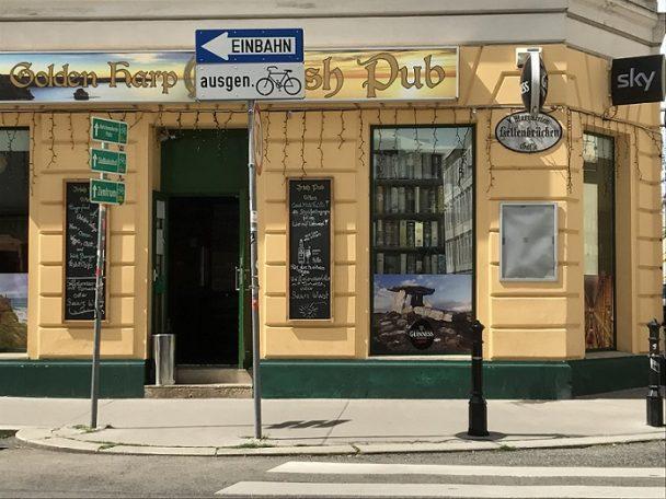 Außenansicht des Irish Pub