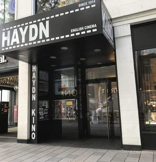 Haydn Kino Eingangsbereich