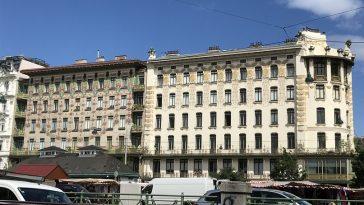 Otto Wagner Kunstwerke, die Wienzeilenhäuser gesamtheitlich gesehen