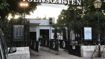 Eingangsbereich der Diskothekt Volksgarten