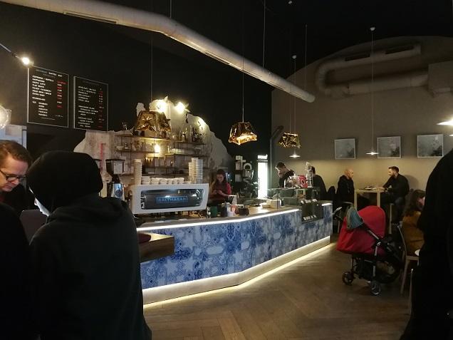 Innenraum des Kaffeehauses
