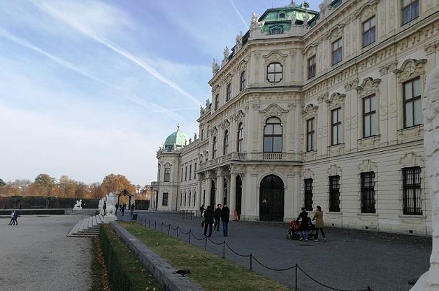Außenansicht Schloss Belvedere