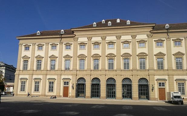 Außenansicht des Palais