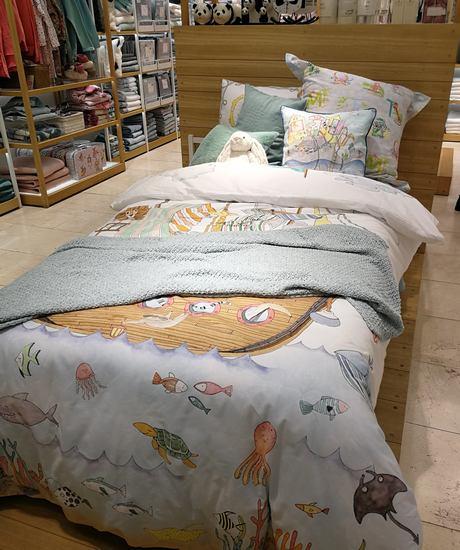 ein Bett im Zara Home Store