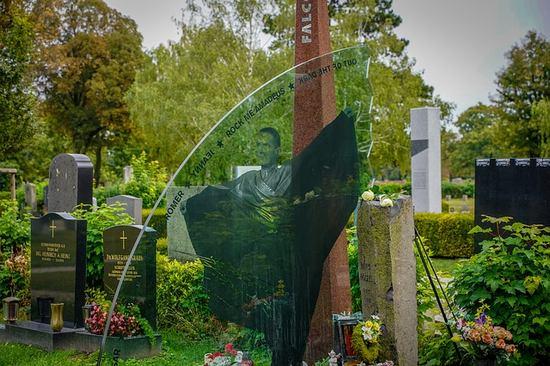 Grab von Falco am Friedhof