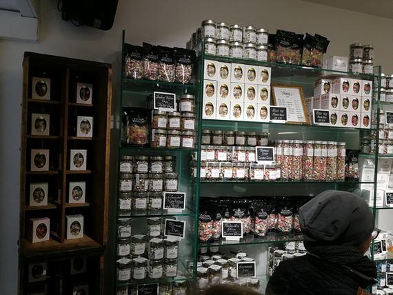 Shop mit großer Auswahl an Bonbons
