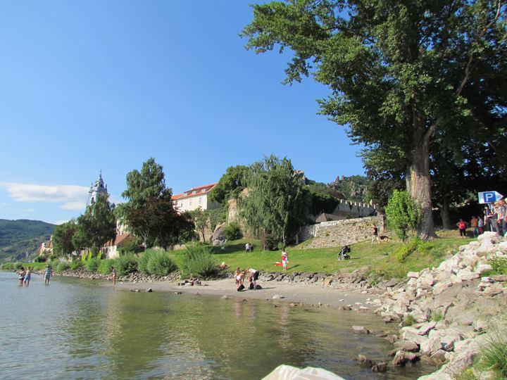 Badeplatz bei der Donau