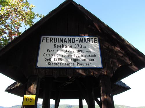 Aussichtswarte in der Wachau