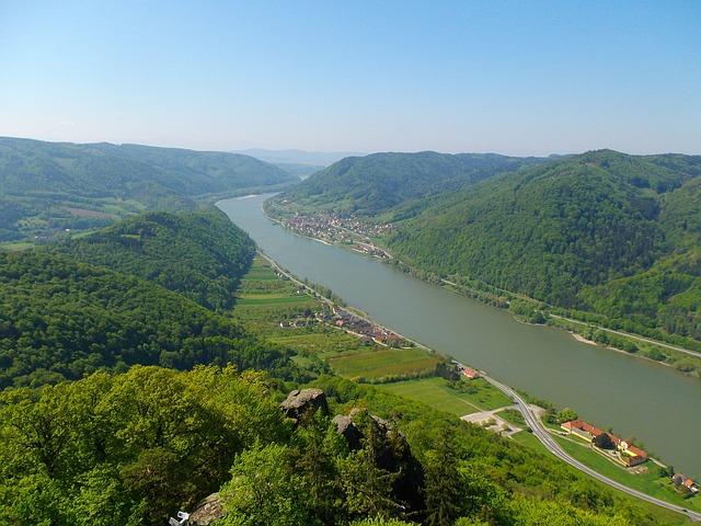 Ausblick von einer Wandertour auf die Wachau