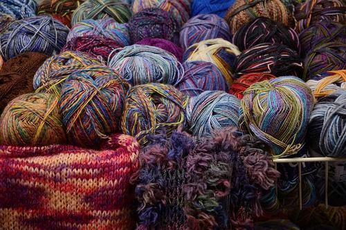 Wolle für Stricken