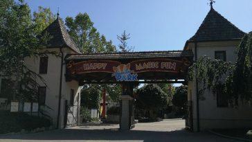 offene Tore des Familypark in Rust