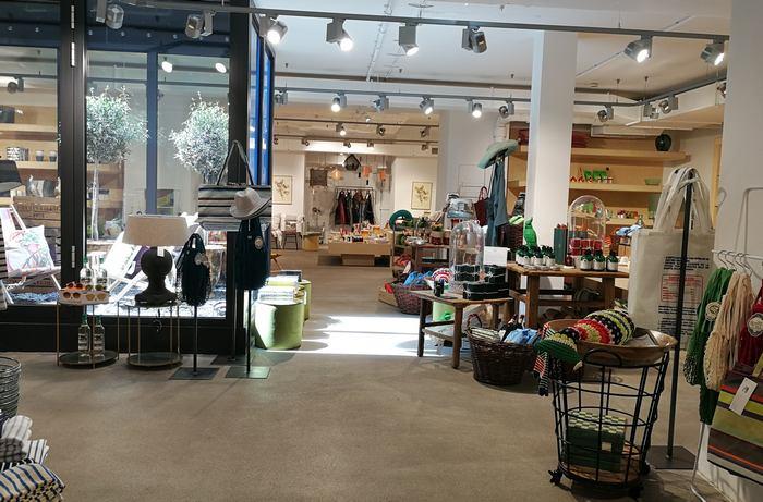 Innenansicht des Concept Stores in der Tuchlauben-Straße in Wien
