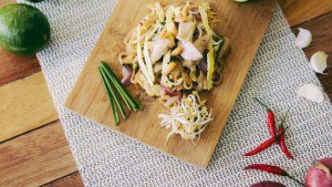 Nudelgericht nach thailändischer Art