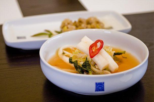 Kimchi, ein traditionell koreanisches Essen